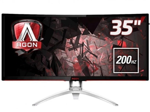 "AOC AGON 35"" Curved FreeSync 200Hz Gaming Monitor"