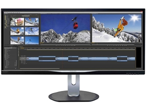 "Philips BDM3470UP 34"" UltraWide IPS 3440 x 1440p Monitor"