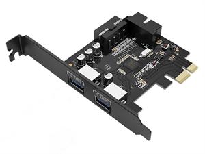 ORICO USB3.0 2-Port PCI-E Expansion Card (PVU3-2O2I-V1)