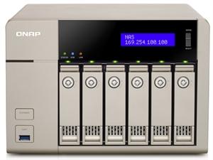 QNAP TVS-663-4G 6 Bay Diskless NAS