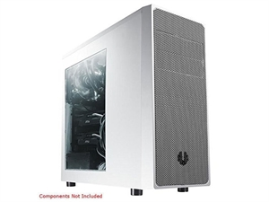 Bitfenix Neos Window Mid Tower Chassis Case - White/Silver