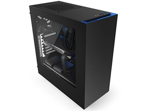 NZXT Source 340 USB3.0 Mid-Tower Case - Black/Blue