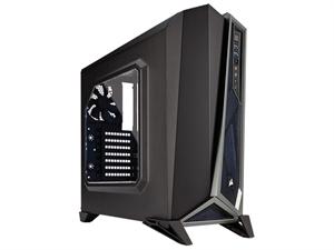 Corsair Carbide SPEC-ALPHA Mid-Tower Gaming Case - Black & Silver