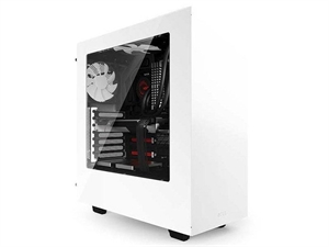 NZXT S340 Window Mid Tower Case - White
