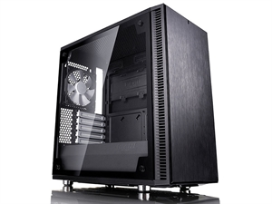 Fractal Design Define Mini C Tempered Glass Edition Case - Black