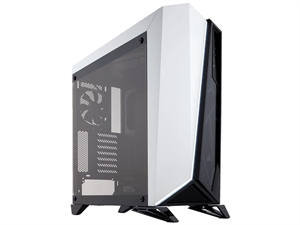 Corsair Carbide Series Spec-Omega Tempered Glass Gaming Mid-Tower Case - Black/White