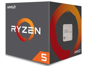 AMD Ryzen 5 1500X 4 Core AM4 CPU (Wraith Spire Cooler)