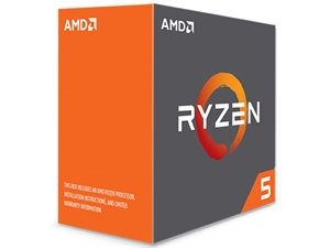 AMD Ryzen 5 1600X 6 Core AM4 CPU (No CPU Cooler)