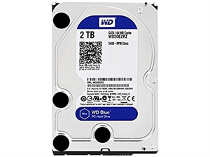 """Western Digital Caviar Blue 2TB 3.5"""" Hard Drive - WD20EZRZ"""