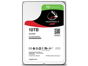 """Seagate Ironwolf 10TB 3.5"""" NAS Drive - ST10000VN0004"""