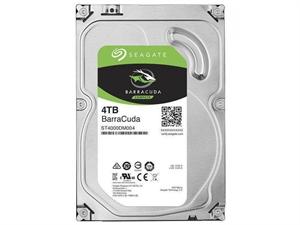 "Seagate BarraCuda 4TB SATA 3.5"" Hard Drive - ST4000DM004"