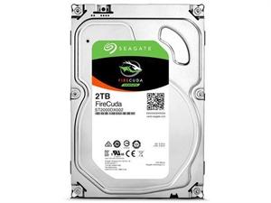 "Seagate Firecuda 2TB 3.5"" Internal SSHD Hybrid Hard Drive - ST2000DX002"