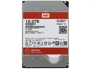 "Western Digital Red 10TB 3.5"" SATA3 NAS Hard Drive - WD100EFAX"