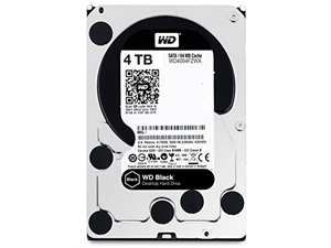 "Western Digital Black 4TB 3.5"" Internal Hard Drive - WD4003FZWX"