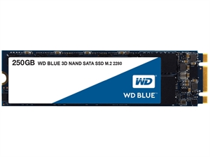 Western Digital WD Blue 250GB 3D NAND M.2 SSD