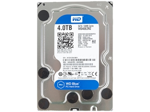 "Western Digital Caviar Blue 4TB Internal 3.5"" SATA Hard Drive - WD40EZRZ"