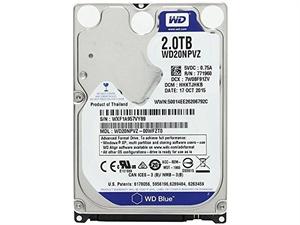 Western Digital Blue 2TB Internal 2.5 Laptop Hard Drive