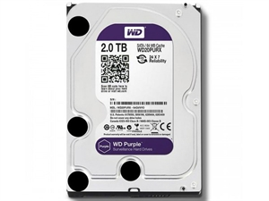 Western Digital Purple 2TB Surveillance Hard Drive - WD20PURX