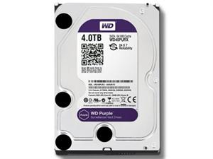 """Western Digital Purple 4TB 3.5"""" Surveillance Hard Drive - WD40PURX"""
