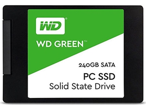 "Western Digital WD Green 240GB 2.5"" 3D NAND SSD"