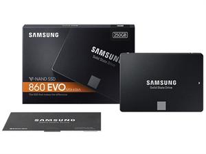 "Samsung 860 EVO 250GB 2.5"" SATA III SSD - MZ-76E250BW"