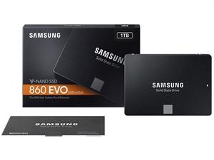 "Samsung 860 EVO 1TB 2.5"" SATA III SSD - MZ-76E1T0BW"