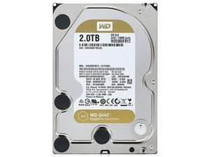 "Western Digital Gold 2TB 3.5"" Data Center Hard Drive - WD2005FBYZ"