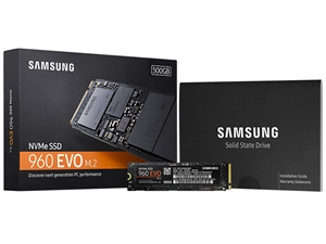 Samsung 960 EVO 500GB M.2 2280 SSD - MZ-V6E500BW