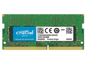 Crucial 8GB DDR4 2400MHz CL17 SODIMM RAM