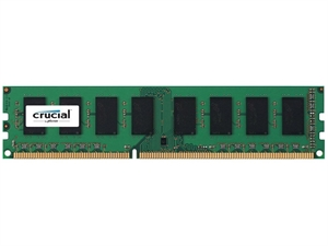 Crucial 8GB DDR3 PC12800 1600MHz CL11 Desktop Memory