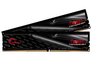 G.Skill Fortis 16GB (2x8GB) DDR4 2400Mhz Ryzen Desktop RAM - Black