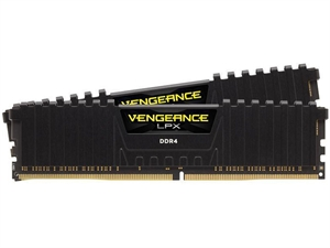 Corsair Vengeance LPX 16GB (2 x 8GB) 3200MHz DDR4 Desktop RAM - Black