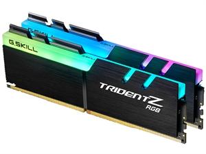 G.Skill Trident Z RGB 16GB (2x8GB) DDR4 3200MHz CL16 Desktop RAM