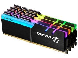 32GB G.Skill Trident Z RGB 32GB(4x8GB) DDR4 2400MHz CL15 Desktop RAM