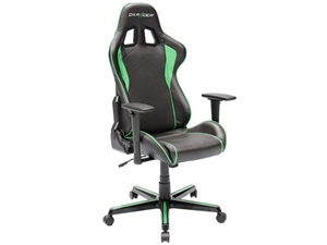 DXRacer Formula Series Sparco Style Gaming Chair Neck/Lumbar Support - Black & Green