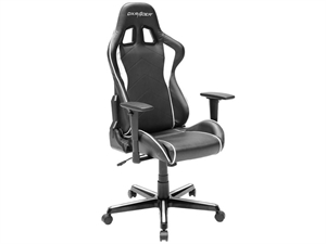 DXRacer Formula Series Sparco Style Gaming Chair Neck/Lumbar Support - Black & White