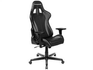DXRacer FL57 Series Sparco Style Gaming Chair Neck/Lumbar Support - Black & Carbon Grey