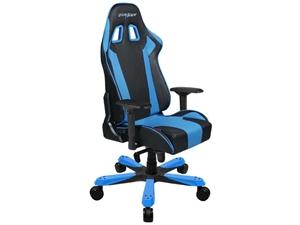 DXRacer KS06 Series Gaming Chair Neck/Lumbar Support - Black & Blue