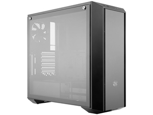 Cooler Master MasterBox Pro 5 Tempered Glass Windowed Mid Tower Case - Black