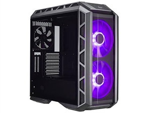 Cooler Master Mastercase H500P Mid Tower Case - Black with 2 RGB Fans