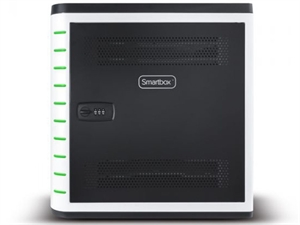 ALOGIC Smartbox 10 Bay Android and iPad SYNC & CHARGE Cabinet - With Combination Lock
