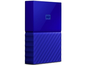Western Digital WD My Passport 2TB USB 3.0 Portable Hard Drive - Blue