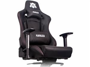 Pleasant Karuza Yx 0026 Gaming Chair Black Red Trim Pdpeps Interior Chair Design Pdpepsorg