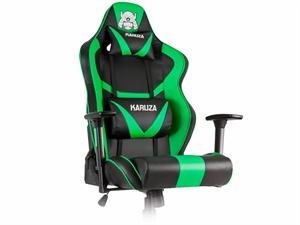 Fine Karuza Yx 802 Gaming Chair Black Green Pdpeps Interior Chair Design Pdpepsorg